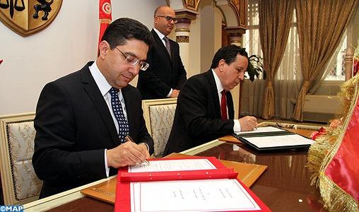 Signature de deux conventions de coopération entre le Maroc et la Tunisie
