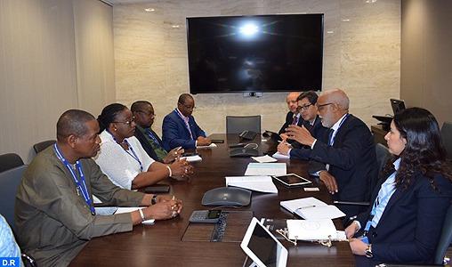 M. Yatim s'entretient à Genève avec le directeur général de l'OIT