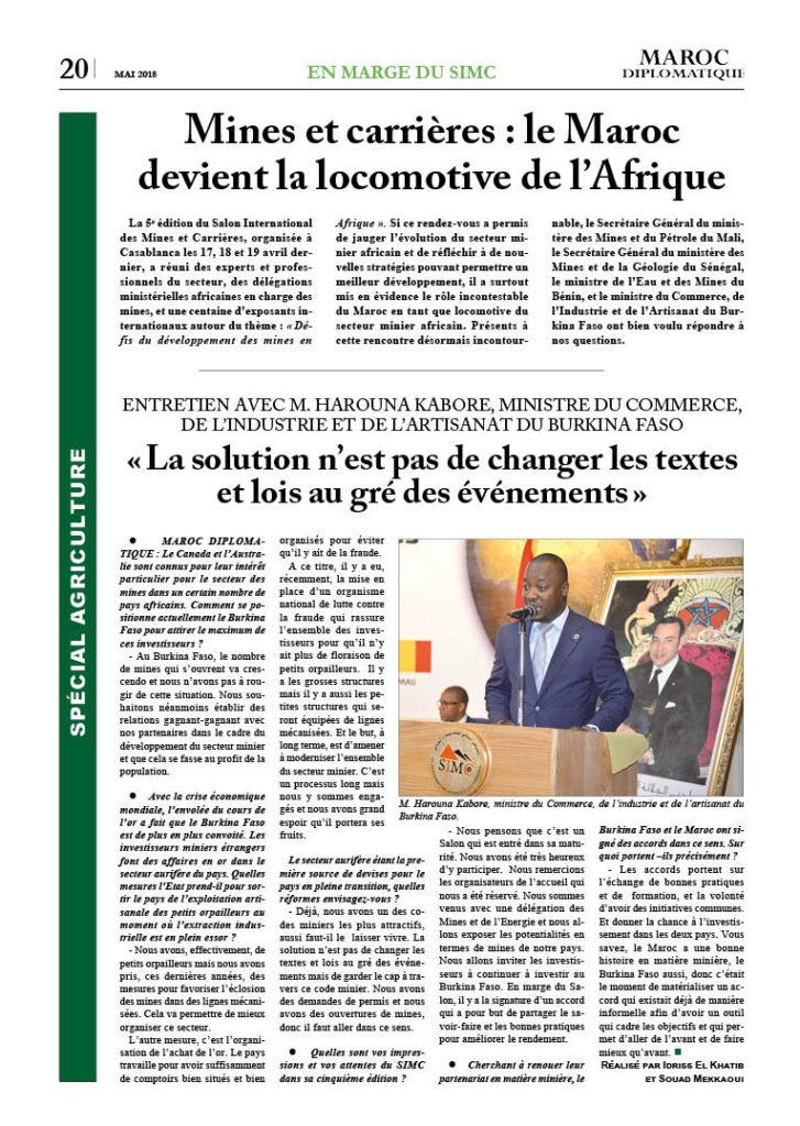 https://maroc-diplomatique.net/wp-content/uploads/2018/05/P.-20-Sp.-Agri.-4-chapô-entretien-minitre-Burkinabé-727x1024.jpg