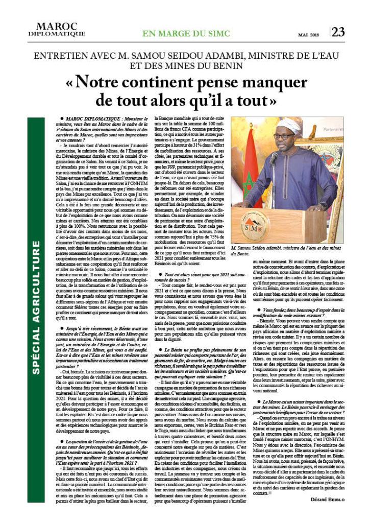 https://maroc-diplomatique.net/wp-content/uploads/2018/05/P.-23-Sp.-Agri.-2-Entr-minitre-du-Bénin-727x1024.jpg