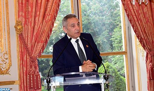 Présentation de la candidature du Maroc à l'organisation de la coupe du monde de football 2026 à l'Assemblée nationale française