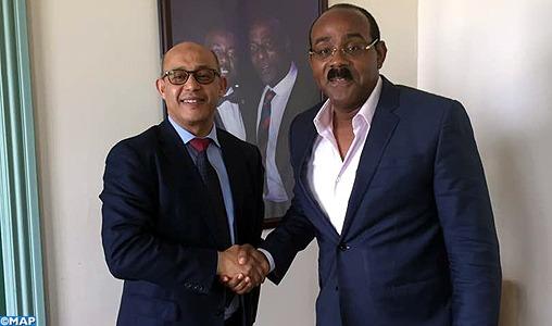 Le Premier ministre d'Antigua-et-Barbuda salue le leadership de SM le Roi en Afrique