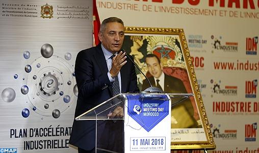 Casablanca: Rencontre autour de la régionalisation de l'industrie