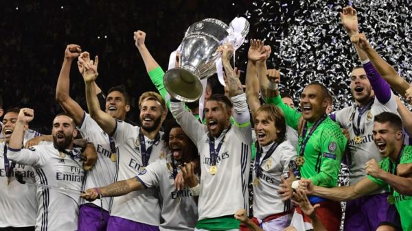 Le Real Madrid remporte sa 3e Ligue des champions consécutive