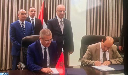 Maroc-Palestine : Signature d'un mémorandum d'entente relatif à la coopération en matière d'administration publique