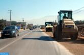 Suspension de la circulation sur la RN1 reliant Lakhssas et Tagant dans la province de Guelmim