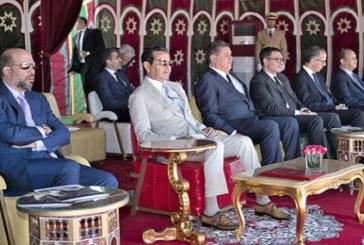 SAR le Prince Moulay Rachid a présidé, dimanche 13 mai, à Rabat, la cérémonie de remise du 19ème Trophée Hassan II des Arts équestres traditionnels « Tbourida », organisé du 07 au 13 mai 2018