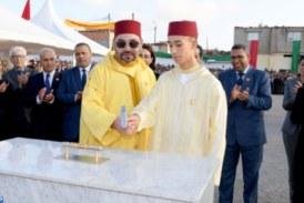La province de Kénitra a vu ses infrastructures sociales se consolider grâce aux projets solidaires initiés, lundi 21 Mai , par Sa Majesté le Roi Mohammed VI accompagné de SAR le Prince Héritier Moulay El Hassan