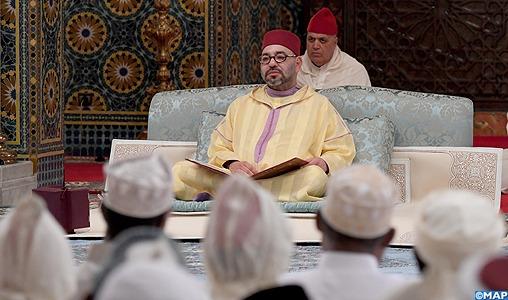 SM le Roi, Amir Al Mouminine, préside lundi à Rabat une veillée religieuse en commémoration de Laylat Al-Qadr