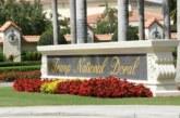 Floride: Un homme armé blessé par la police dans un golf de Trump