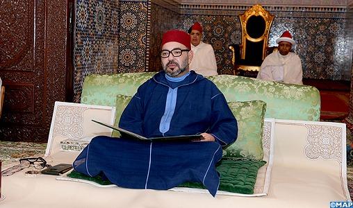 SM le Roi, Amir Al Mouminine, préside lundi à Rabat la deuxième causerie religieuse du mois sacré de Ramadan