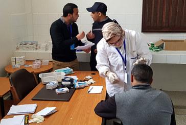 Campagne médicale au profit des détenus de la prison locale de Khouribga
