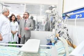 Sa Majesté le Roi Mohammed VI a inauguré, mercredi 16 mai, l'hôpital préfectoral «Prince Moulay Abdallah», à l'arrondissement Hssain