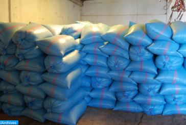 Meknès: Saisie de 900 tonnes du blé dur impropres à la consommation