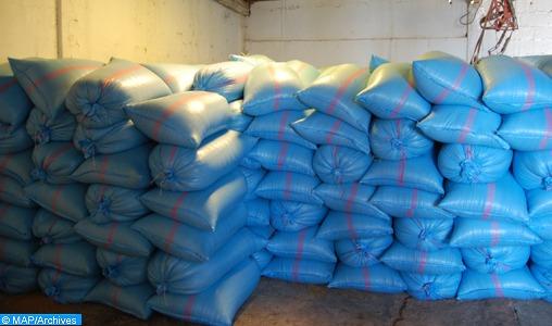Meknès: Saisie 900 tonnes du blé dur impropres à la consommation
