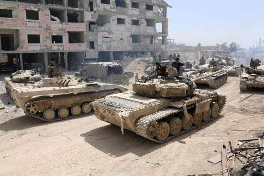 """Syrie: Moscou appelle Israël et l'Iran à """"la retenue"""""""