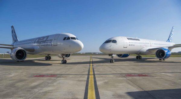 Airbus, Bombardier et Investissement Québec concluent leur accord de partenariat du programme C Series