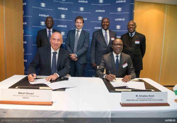 Airbus conclut un partenariat avec le gouvernement de Côte d'Ivoire
