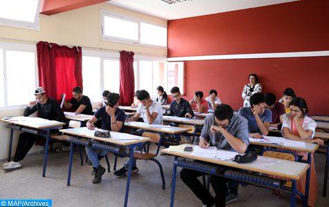 Début des examens de la deuxième année du baccalauréat dans les différents lycées du Royaume