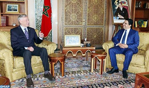 M. Bourita reçoit à Rabat l'envoyé personnel du SG de l'ONU pour le Sahara marocain