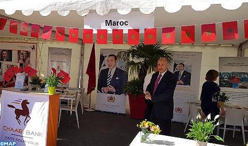 Le Consulat général du Maroc à Lyon (centre-est de la France) a brillement participé à la 17ème édition des fêtes consulaires organisées, du 22 au 24 juin, dans la métropole lyonnaise, mettant en avant les atouts économiques du Royaume et les grands chantiers qui y sont mis en oeuvre.