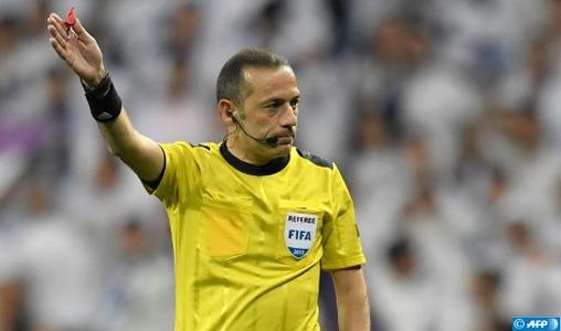 Mondial-2018 : Le match Maroc-Iran officié par l'arbitre turc Cuneyt Chakir