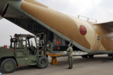 Arrivée en Egypte du premier lot de l'aide humanitaire marocaine au profit du peuple palestinien