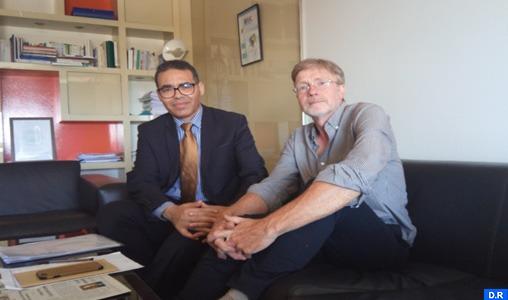 Examen à Rabat d'une coopération entre la Chaire Larbi Messari et le Conseil belge de déontologie journalistique