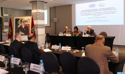 Conférence sur Al Qods: La solution à deux États