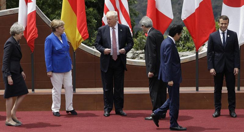 Les pays du G7 sans les Etats-Unis s'engagent à travailler sur les questions du climat