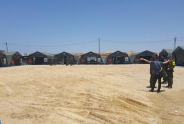 Hôpital de campagne des FAR à Gaza, implication effective en faveur du peuple palestinien