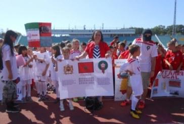 L'ambassade du Maroc en Bulgarie participe à la mini coupe du monde de football