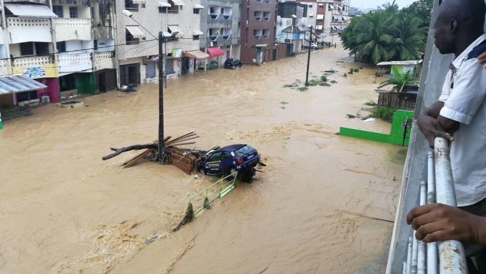 Côte d'Ivoire: des pluies torrentielles font plus de 20 morts à Abidjan