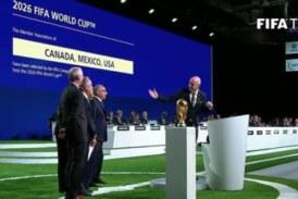 L'organisation de la coupe du monde 2026 de football attribuée au trio USA-Canada-Mexique