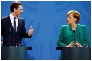 L'Allemagne, l'Autriche et l'Italie créent un «Axe» contre l'immigration clandestine