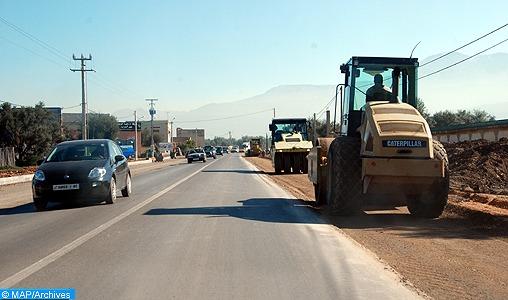 Province d'Al-Hoceima: 35% de taux d'avancement des travaux de la Route Moulay Ahmed Cherif-El Jebha