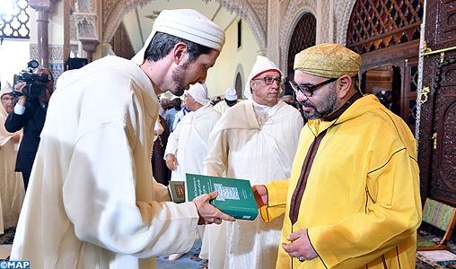 SM le Roi, Amir Al Mouminine, préside à Rabat la septième causerie religieuse du mois sacré de Ramadan