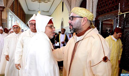 SM le Roi, Amir Al Mouminine, a présidé hier à Rabat la sixième causerie religieuse du mois sacré de Ramadan