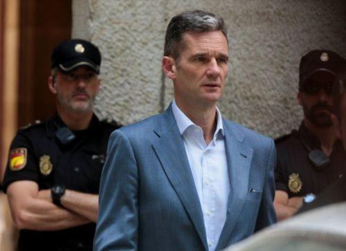 Incarcération du beau-frère du roi Felipe d'Espagne