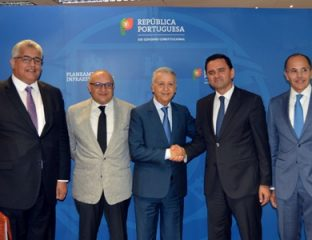 M. Sajid s'entretient à Lisbonne avec le ministre portugais de la Planification et des infrastructures