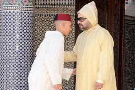 SM le Roi, Amir Al-Mouminine, accomplit la prière de l'Aïd Al-Fitr et reçoit les vœux