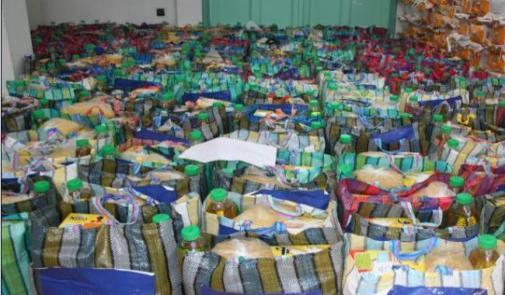 Benslimane : 5100 bénéficiaires de l'opération nationale de soutien alimentaire - Ramadan1439