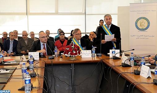 L'Ordre Lafayette: L'implantation au Maroc, une opportunité pour développer les liens d'amitié
