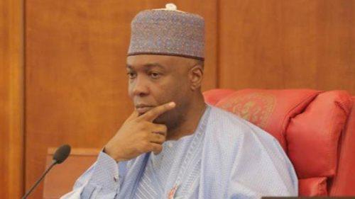 le président du Sénat nigérian a été