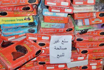 Casa-Settat : Saisie de 74 t de produits impropres à la consommation durant la 2è dizaine du Ramadan