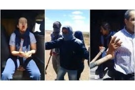 Une jeune fille et un chauffeur d'une camionnette ont été agressés par des personnes masquées sous prétexte d'adultère.