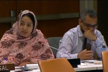 Consécration historique de la représentativité des élus du Sahara marocain devant les Nations unies