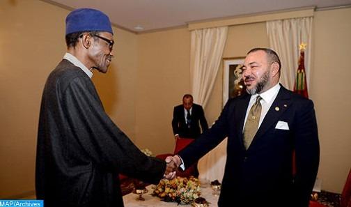Entretiens en tête-à-tête entre SM le Roi et le Président du Nigeria