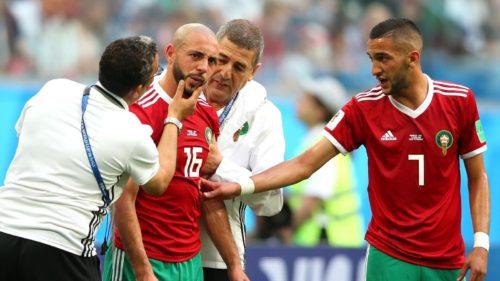 Mondial 2018 – Maroc: le médecin défend sa gestion de la commotion d'Amrabat