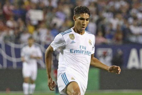 Achraf Hakimi prêté par le Real Madrid au Borussia Dortmund (Officiel)